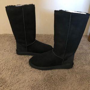 Tall Shearling Boot